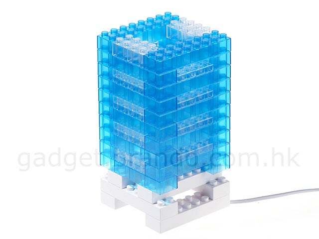 LEGO Brick Tower Mood Light Builds a Castle of Happiness