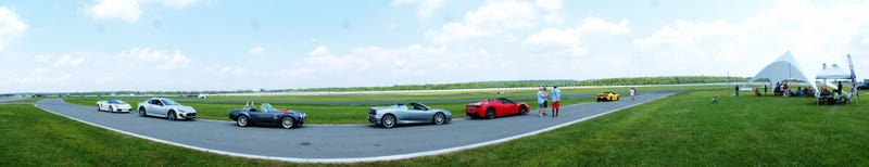 What It Feels Like To Get Passed By A Ferrari In A $1,500 Crapcan