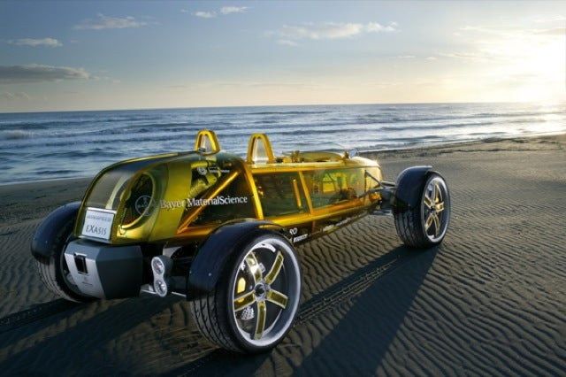 eXasis Transparent Car: Clearly Awesome