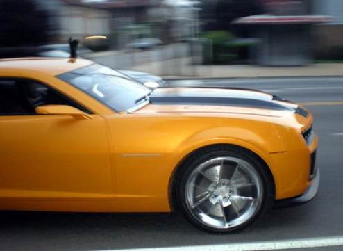 Looks Like Bumblebee Gets An Upgrade To Chevy Camaro SS For Transformers 2