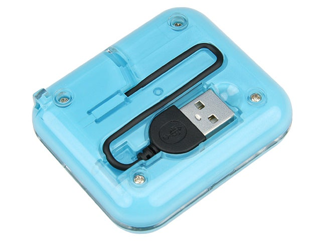 USB Memory Card Reader With Compact Mirror. Verdict: Wacky!