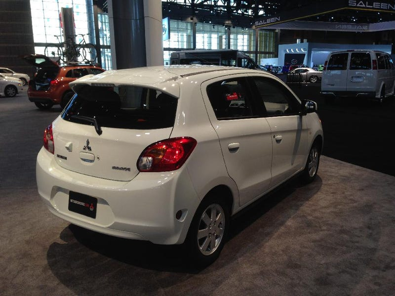 The New Mitsubishi Mirage...Cheap, But is it Cheerful?