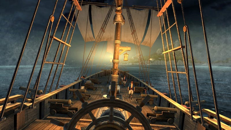 Is That A Cutlass In Your Pocket, Or Is It Assassin's Creed: Pirates