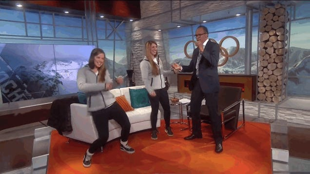 Lester Holt Tried To Dance Like Kate Hansen And It Was A Mess
