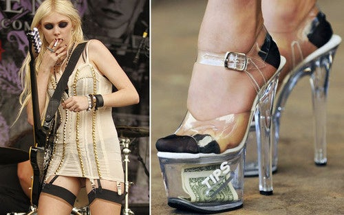 Taylor Momsen's Shoes Pay For Her Cigarettes