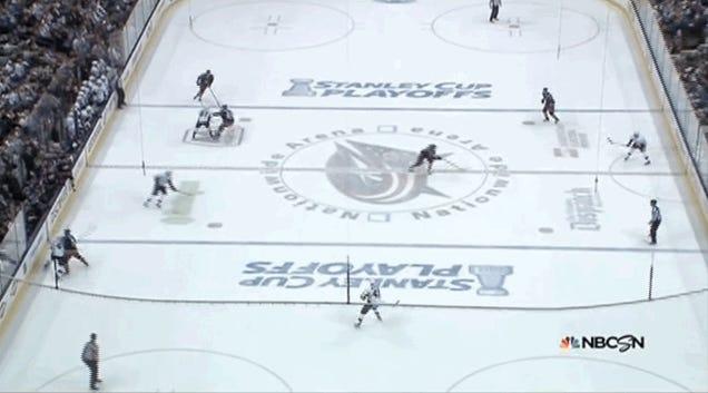 Sidney Crosby Breaks Stick Slashing Artem Anisimov
