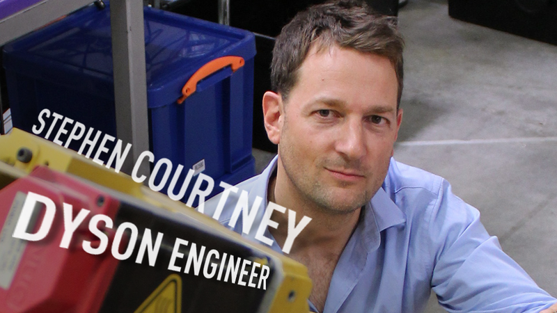 How Stephen Courtney and the Dyson Team Invented the DC65