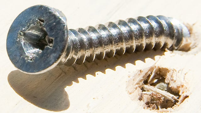 Reduce Strain on Stripped Screws to Loosen Them Easier
