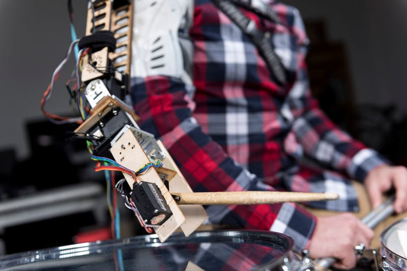 Three-Armed Cyborg Drummer Is the Killer Beat Machine of the Future