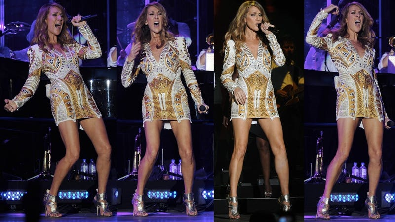Celine Dion Flashes Her Hoo-Ha in Jamaica