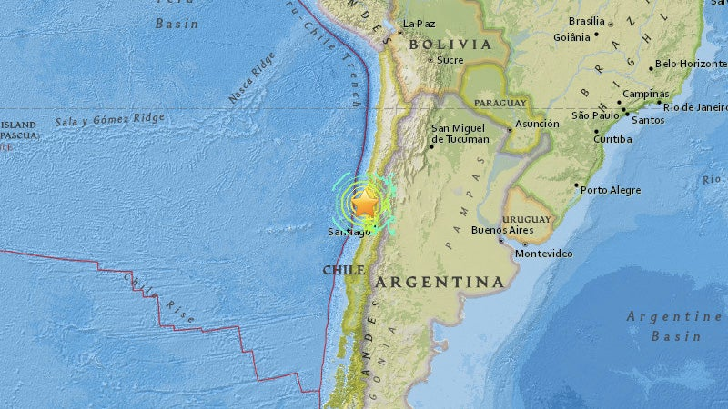 Tsunami Alerts Issued After Powerful 8.3 Earthquake Rocks Chile
