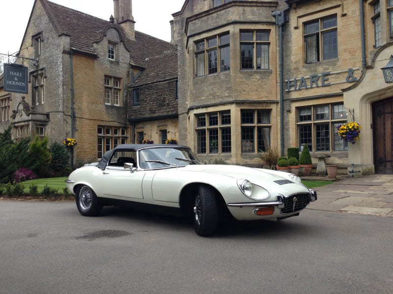 I got 24 hours in a 1971 Jaguar E-type V12 Roadster. Here's my review of an icon