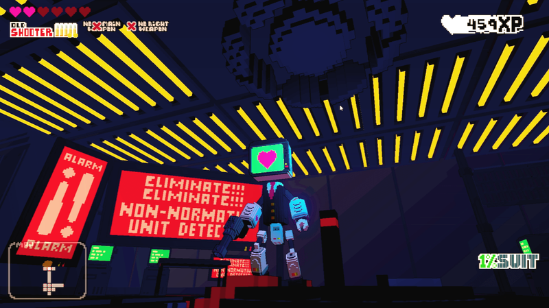 Help A Robot Find Love By Fighting Through Colorful Dungeons
