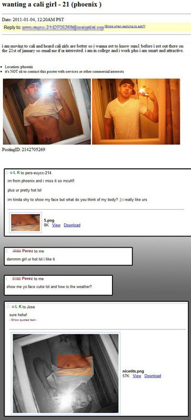 How Not To Troll Craigslist For Women