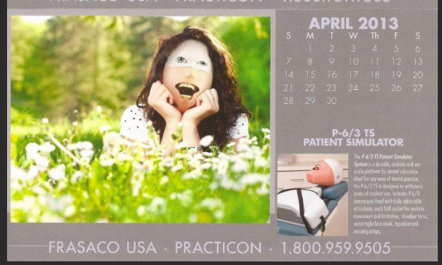 This Dental Practice Training Calendar Is the Creepiest Fucking Thing