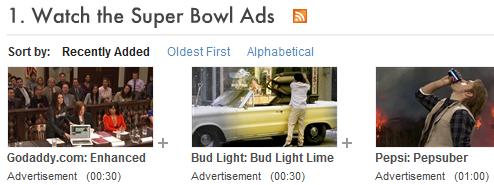 Catch Last Night's Super Bowl Ads Online