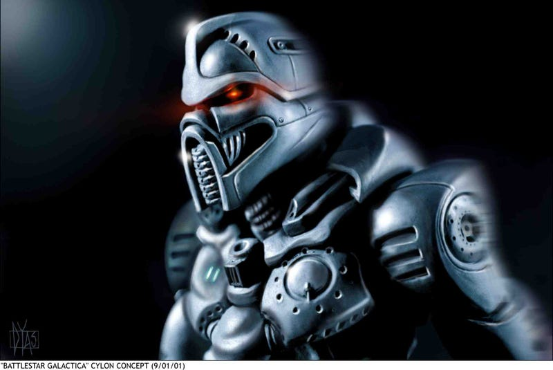 The Real Cylons From The Battlestar You Never Saw