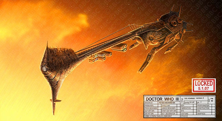 Sunset On The Lost Planet Of Gallifrey