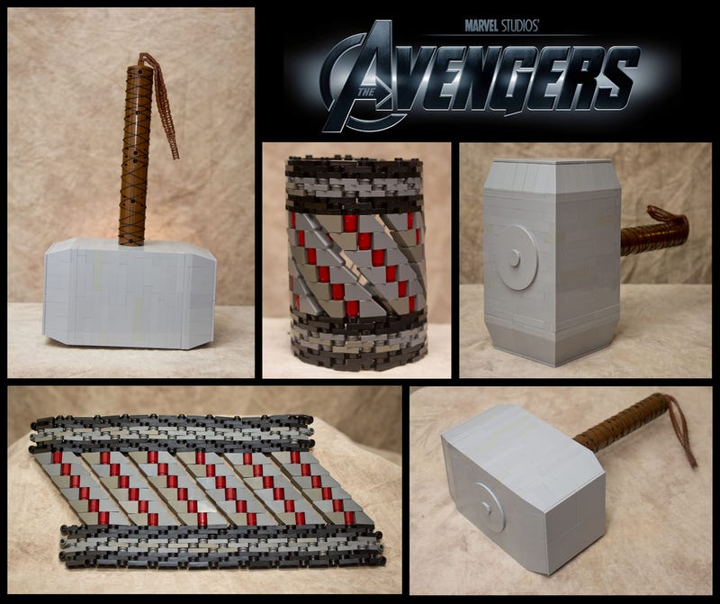 The Avengers' Wonderful Weapons are Made From LEGO
