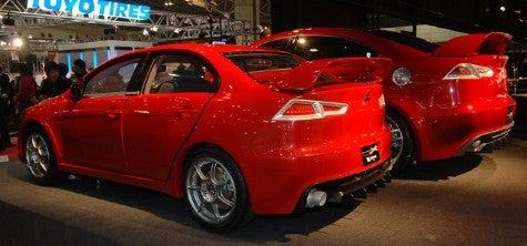 Tokyo Auto Salon: Mitsubishi Concept X and Son