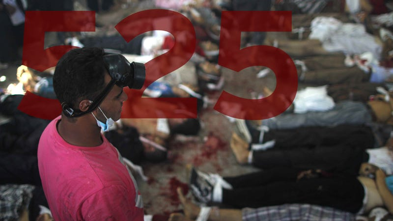 Death Toll in Egypt After Third Slaughter of Protestors: 638