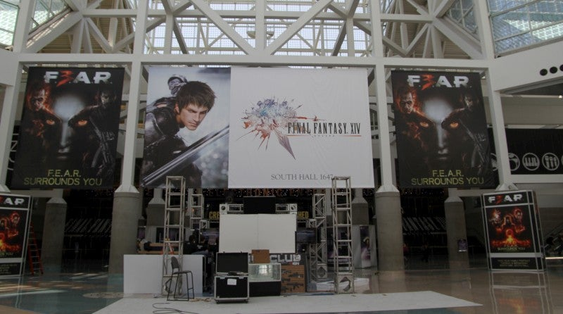 The Giant Video Game Banners E3 Didn't Want You To See