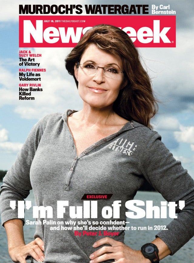 Sarah Palin Declares She Can Win on Newsweek Cover