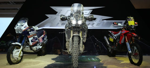 ​2015 Honda Africa Twin: Finally An ADV Bike Built For Dirt