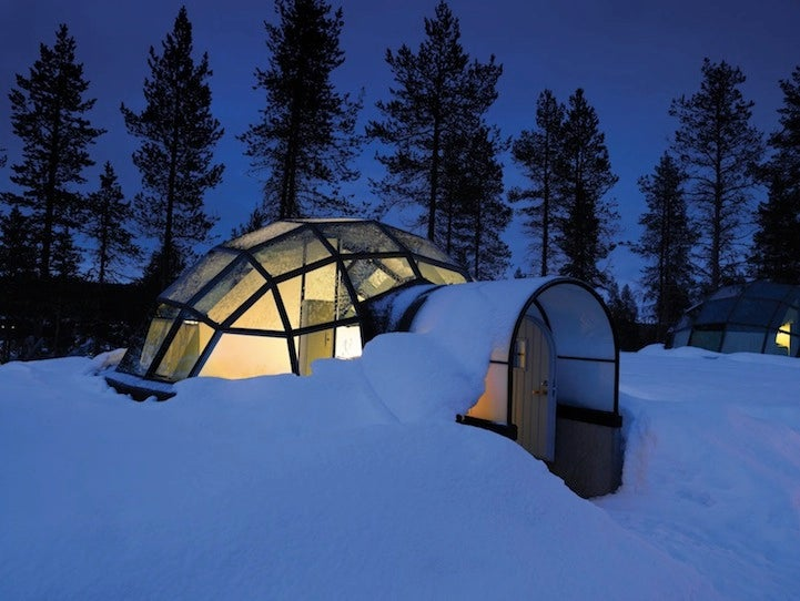 This Igloo Resort Lets You Watch the Northern Lights in Pure Luxury