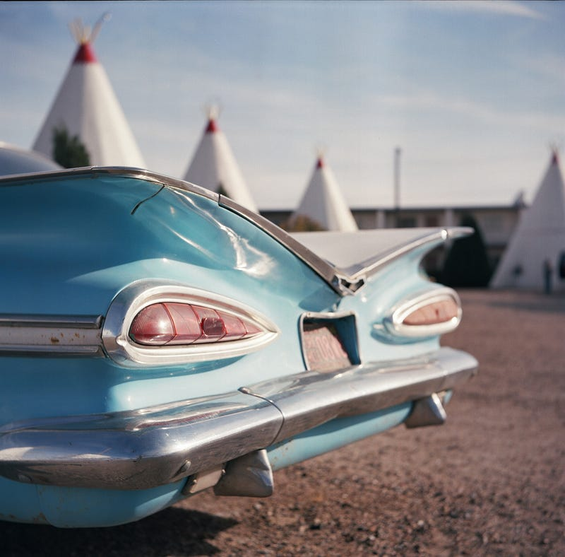 The Old Cars of Route 66