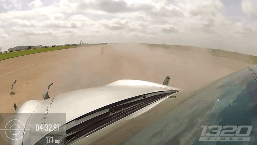 This Is What A 180 MPH Spinout Looks Like
