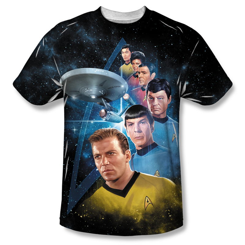 Gold Key Comics Covers, and Other Groovy Star Trek T-Shirts
