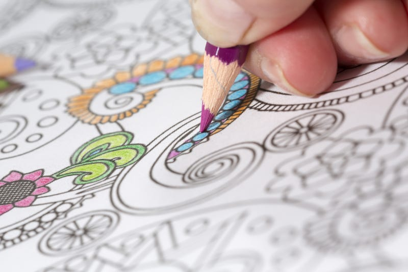 Sales of Adult Coloring Books Have Skyrocketed In The Last Year