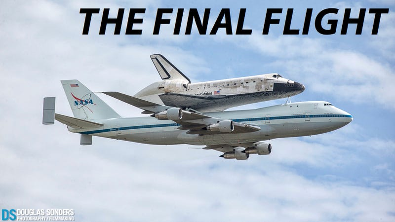 Watch Space Shuttle Discovery's Final Flight As America Records It