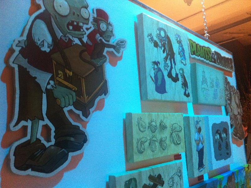 The Art, Food and Drinks of Plants Vs. Zombies