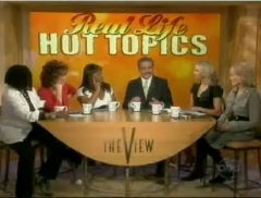 Geraldo Trashes Lou Dobbs on 'The View'