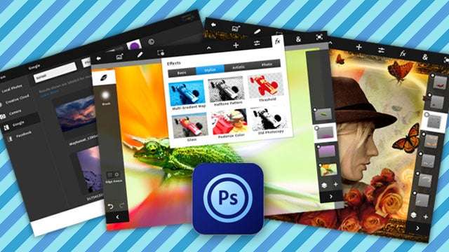 Adobe Photoshop Touch Is Photoshop Cleverly Reimagined for the iPad