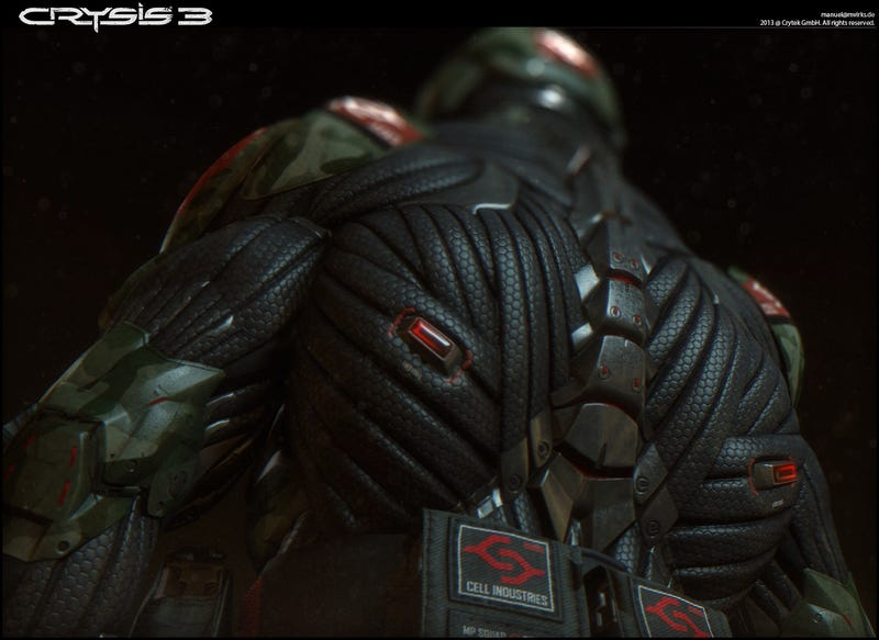 Someone Had To Actually Build The Things In Crysis. Someone Like This Guy.