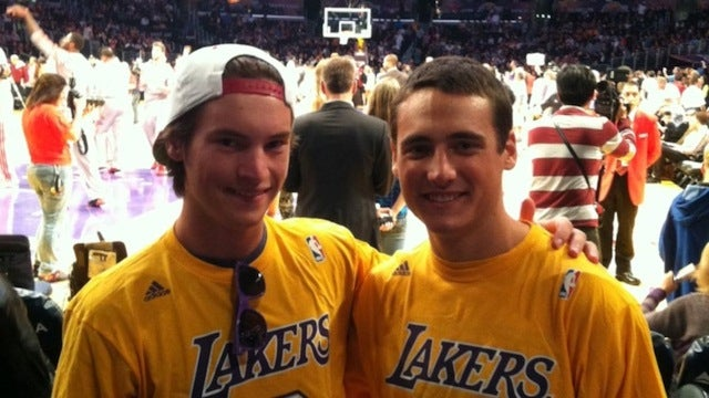 An Exclusive Interview With The Lakers Bros From That GIF