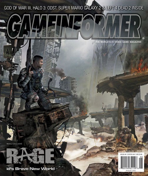 New Game Informer Unleashes Rage