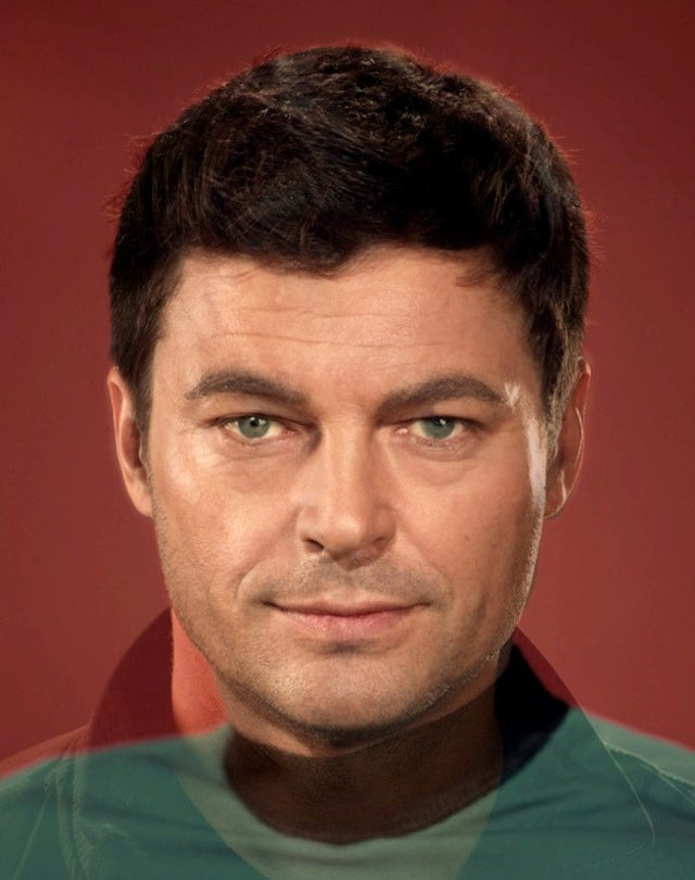 These face blends of the classic and new Star Trek crews are amazing