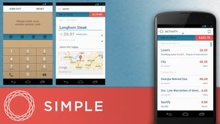 Banking with Simple on Android
