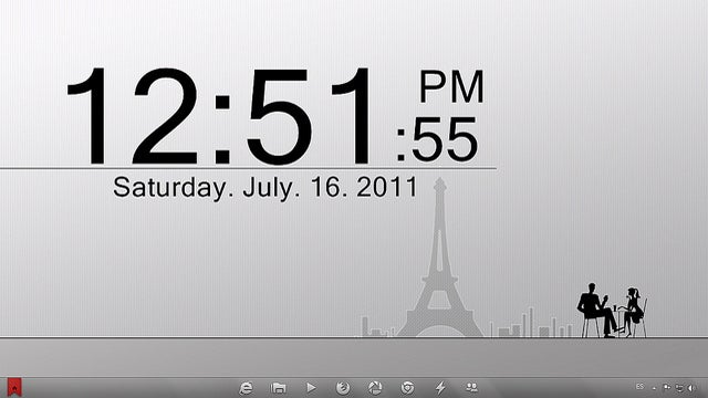 The Parisian Desktop