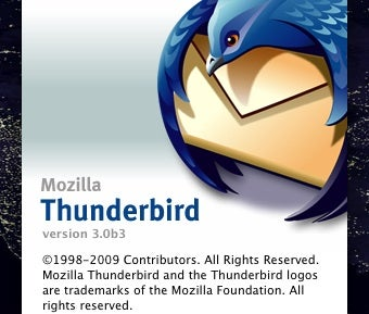 Thunderbird 3 Beta 3 Available for Download