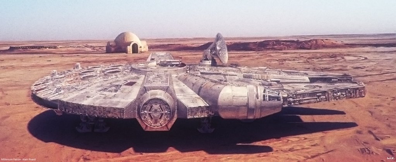 Check Out This Stunning Illustration Of The Millennium Falcon