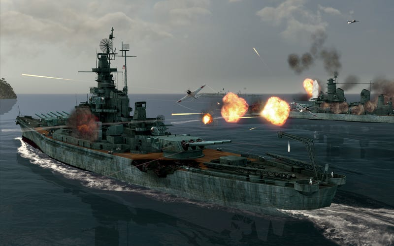 New Trailer And Screens Herald Battlestations: Pacific Website