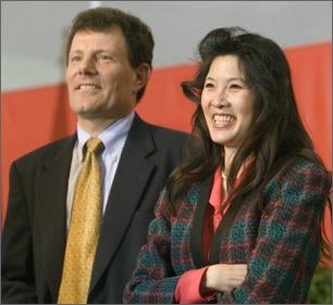 Was Nick Kristof's Wife a Goldman Sachs Layoff Victim?