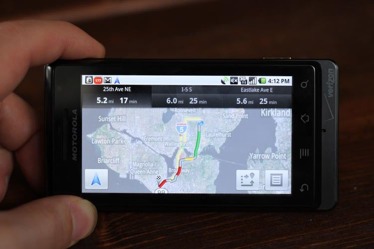Google Navigator for Android Review: Good For Free But Far From Perfect