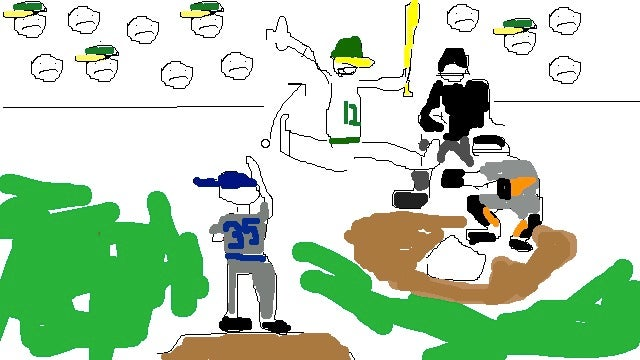 MLB Won't Let Us Show You Video Of Justin Verlander's Amusing Balk, So Here's A Fucking Drawing I Did Instead
