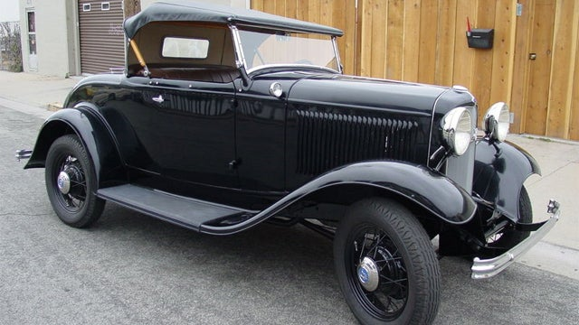 "1932 Deluxe Roadster is as close as you'll get to a ""new"" 80 year old Ford"